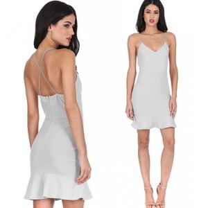 🆕AX PARIS Frill Hem Mini Dress Sz 10